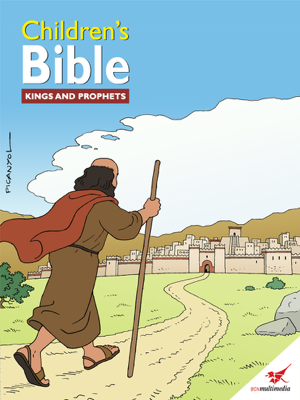 Children's Bible Comic Book Kings and Prophets - Toni Matas book
