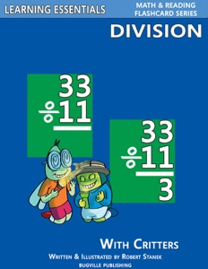 Division Flash Cards: Division Facts with Critters