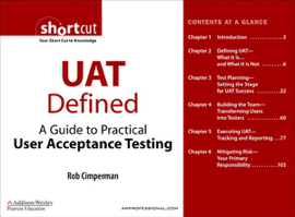 UAT Defined: A Guide to Practical User Acceptance Testing (Digital Short Cut)