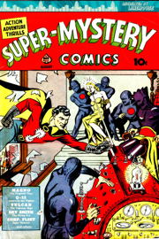 Super Mystery Comics book