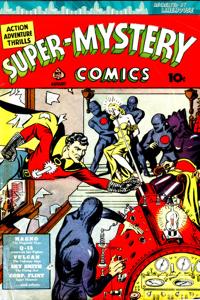 Super Mystery Comics Book Review