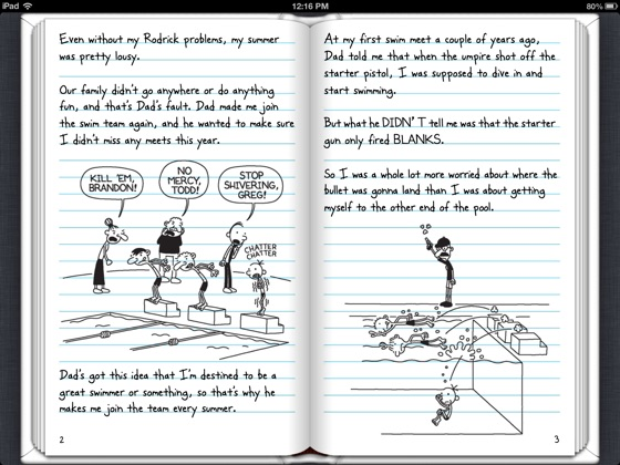 Diary Of A Wimpy Kid Ebook For Ipad