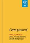 Carta Pastoral del Prelado del Opus Dei sobre el año de la fe