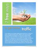 7 Free Ways to Get Online Traffic