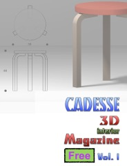 Cadesse 3D Interior Magazine Vol. 01