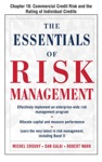 The Essentials Of Risk Management Chapter 10 - Commercial Credit Risk And The Rating Of Individual Credits