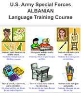 U.S. Army Special Forces  ALBANIAN  Language Training Course