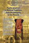 Psychological Practices in Mystic Traditions