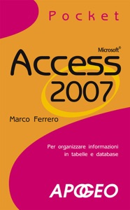 Access 2007 Pocket da Marco Ferrero