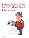 Internet Idiots Guide For GMC MotorHome Information