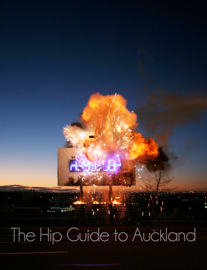The Hip Guide  to Auckland book