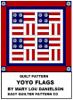 Mary Lou Danielson - Quilt Pattern - Yo-Yo Flags  arte