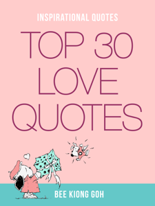 Inspirational Quotes: Top 30 Love Quotes Book Review