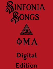Sinfonia Songs Digital Edition book