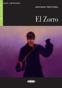 El Zorro Copertina del libro