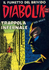Diabolik #11 Copertina del libro