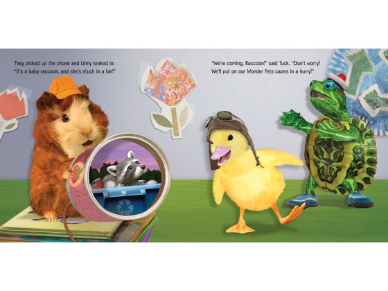 This Is Serious Recycling To The Rescue Wonder Pets On Apple