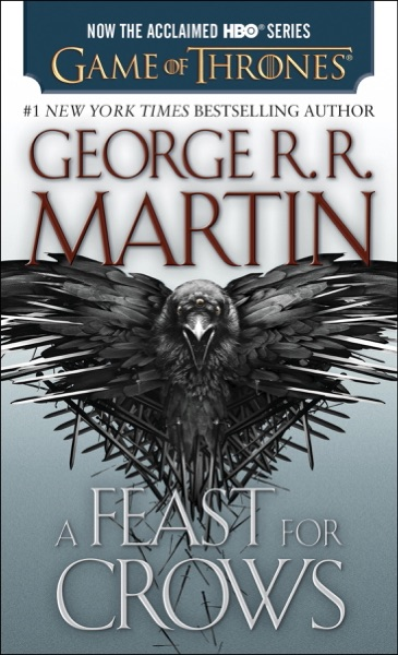 A Feast for Crows - George R.R. Martin book cover