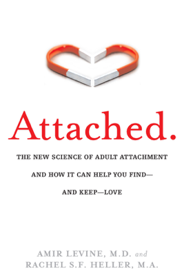 Attached - Amir Levine & Rachel Heller book