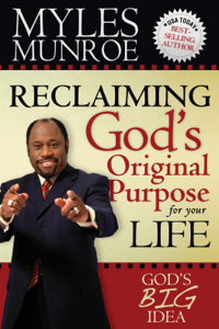 Reclaiming God's Original Purpose for Your Life Libro Cover