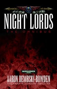 Night Lords: The Omnibus Book Cover