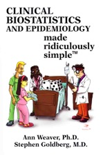 Clinical Biostatistics And Epidemiology Made Ridiculously Simple By