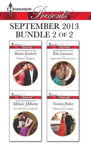 Harlequin Presents September 2013 - Bundle 2 of 2