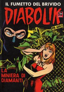 Diabolik #25 Copertina del libro