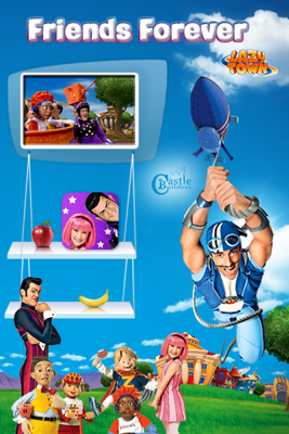 LazyTown's Friends Forever BooClip - LazyTown book
