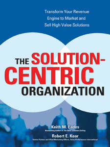 The Solution-Centric Organization Libro Cover