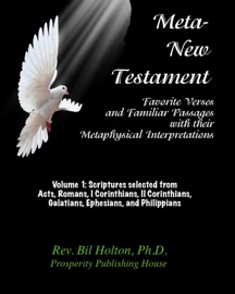 Meta New Testament Favorite Verses Familiar Passages With Their Metaphysical Interpretations Volume 1