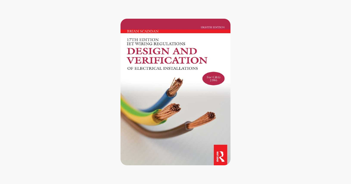 Magnificent 17Th Edition Iet Wiring Regulations Design And Verification Of Wiring Database Wedabyuccorg
