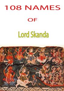 108 Names Of Lord Skanda La couverture du livre martien