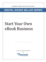 Start Your Own EBook Business