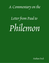 A Commentary On The Letter From Paul To Philemon