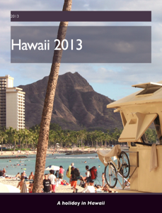 Hawaii 2013 Book Review