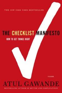 The Checklist Manifesto Book Cover