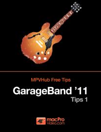 GarageBand '11 Tips 1 book