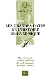 Les grandes dates de l'histoire de la musique européenne