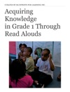 Acquiring Knowledge In Grade 1 Through Read Alouds