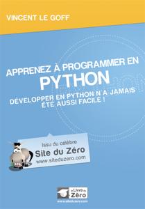 Apprenez à programmer en Python La couverture du livre martien