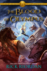 The Heroes of Olympus,Book Five: The Blood of Olympus Book Cover