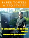 Paper Towels  BBQ Stains