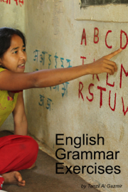 English Grammar Exercises book