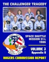 The Report Of The Presidential Commission On The Space Shuttle Challenger Accident The Tragedy Of Mission 51-L In 1986 - Volume Three Appendix O Search Recovery And Reconstruction Report