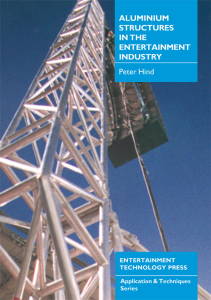Aluminium Structures In the Entertainment Industry Cover Book