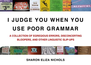 I Judge You When You Use Poor Grammar Book Cover