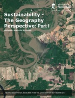 Sustainability - The Geography Perspective: Part I