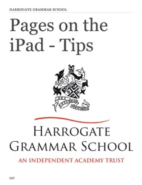 Pages on the iPad - Tips - Daniel Toms