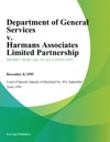 Department Of General Services V Harmans Associates Limited Partnership
